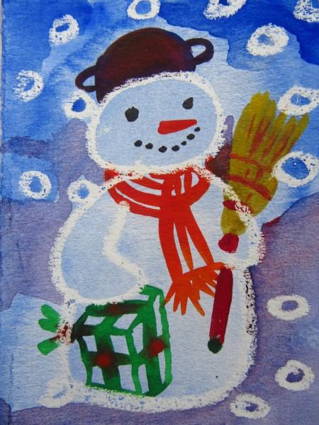 Snowman - Christmas 2019/ illustration