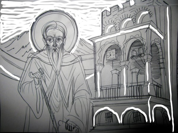 St John of Rilla -550 yrs at the Rilla Monastery
