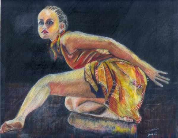 """""""Dancer in Orange"""""""