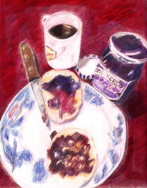 """""""Reflections on a Gift of Grape Jelly"""""""