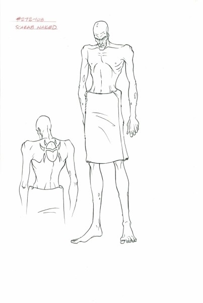 Mummies Alive - Character Model - Scarab Naked