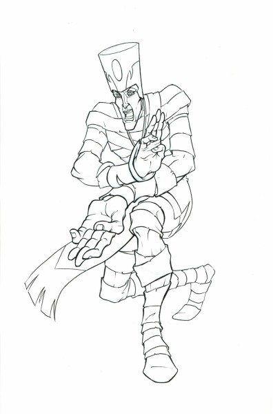 Mummies Alive - Character Model - Rath Action Pose 2