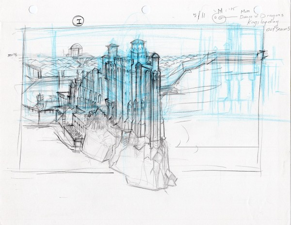 Game of Thrones - Rough Concept Sketches