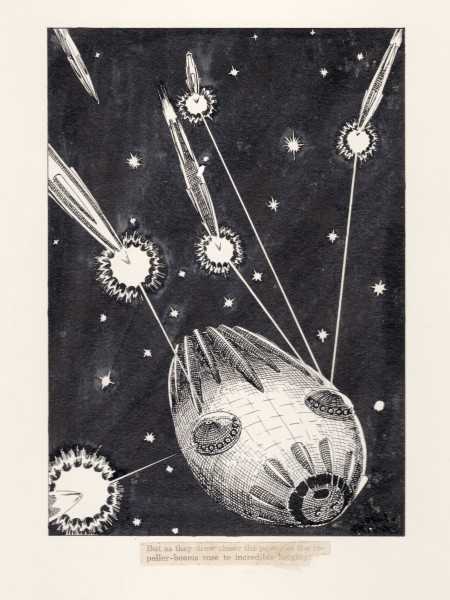 The Last Spaceship - Book Illustration