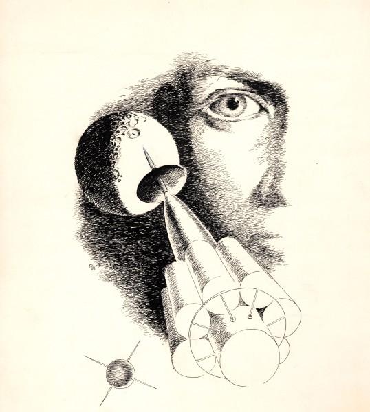 Science Book Illustration - Satellites