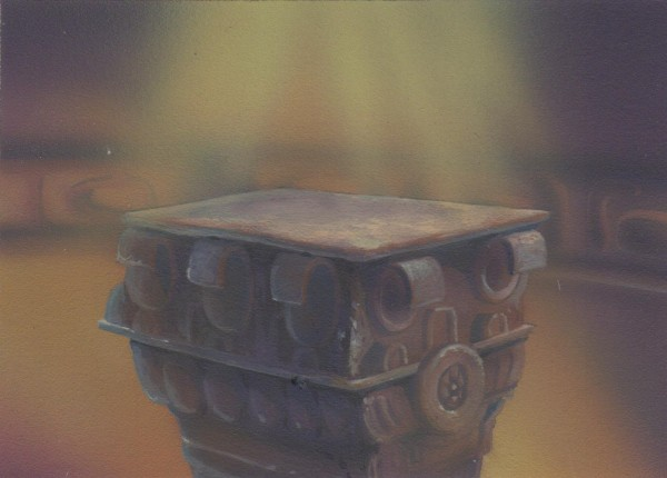 TaleSpin - Background Concept - Jeweled Pedestal