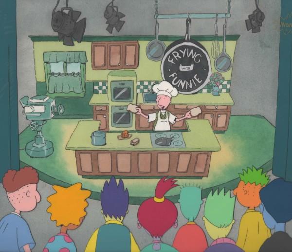 Doug - Cel Setup - Frying with Funnie