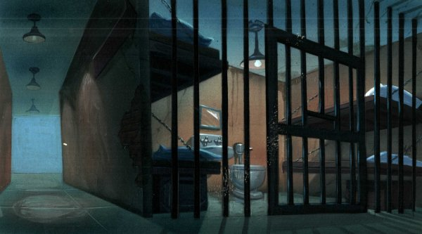 TMNT - Background Concept - Prison Cell