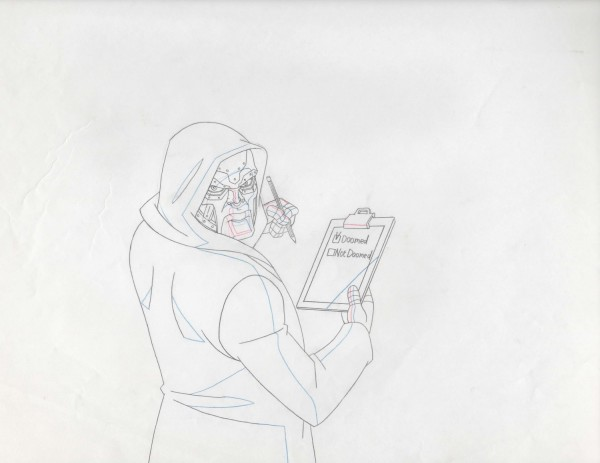 Ultimate Spider-Man - Production Drawings (Full Cut) - Dr. Doom
