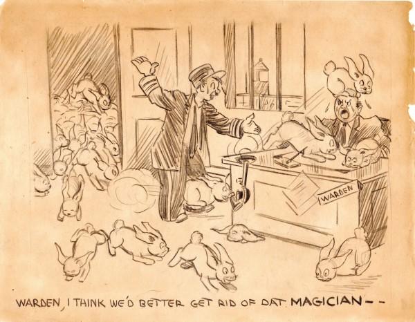 Magician - Preliminary Drawing