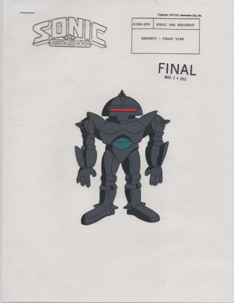 Sonic SatAM - Model Cel - Swatbot