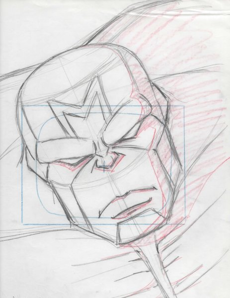 WildC.A.T.s - Layout Drawing - Maul