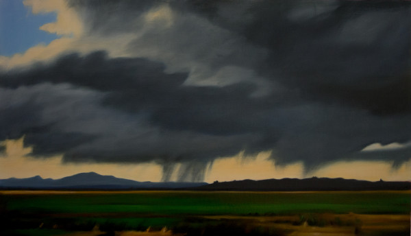 Storm across the Flats