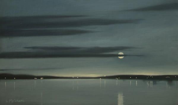 Samish Bay Moon