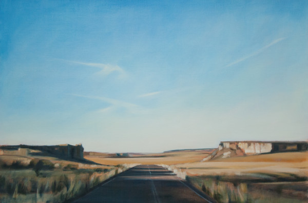 Blue Mesa at Dawn