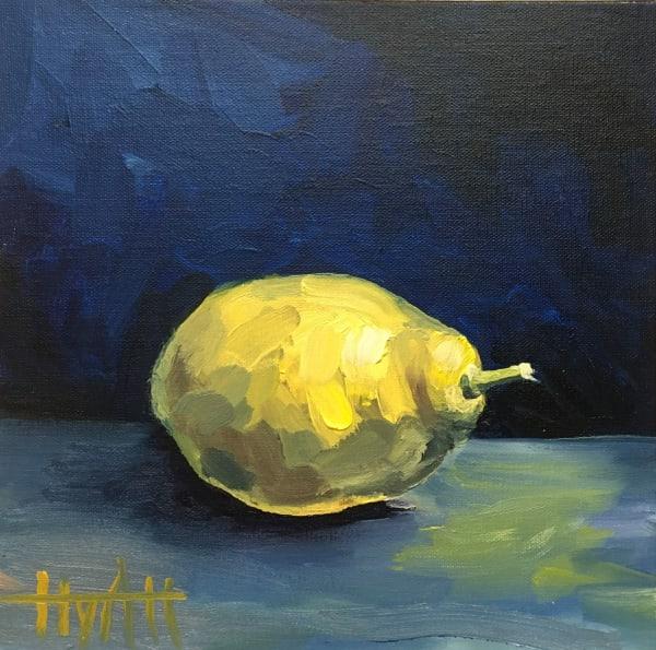 Citron sur Bleu