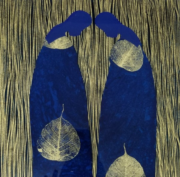 In Blue & Gold III