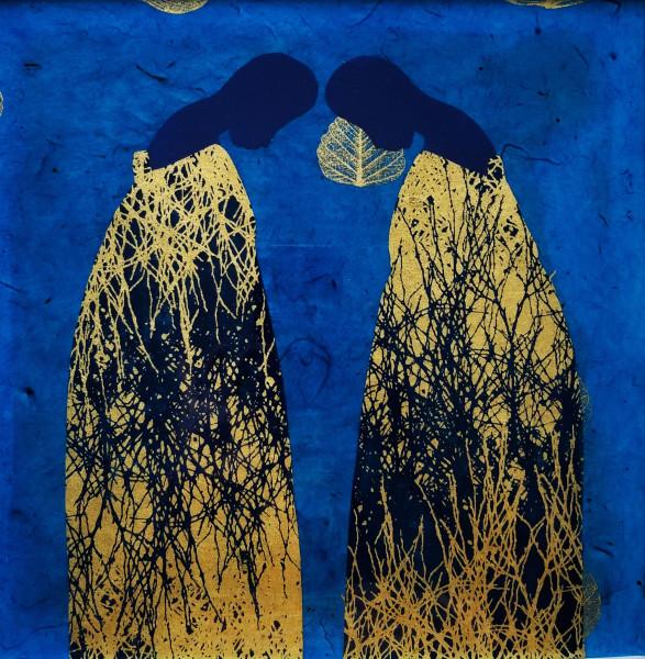 Sumaya | In Blue & Gold II