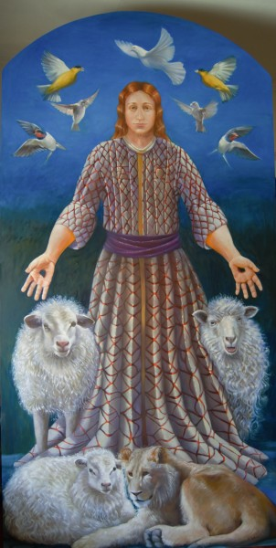 Only Believe-Resurrected Christ with Birds & Animals