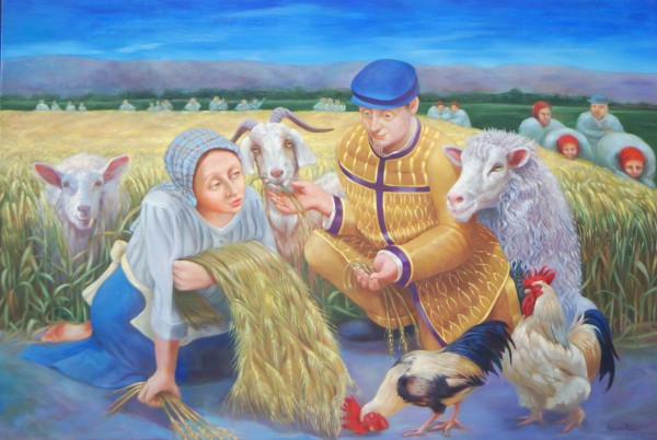 Ruth and the Barley Harvest