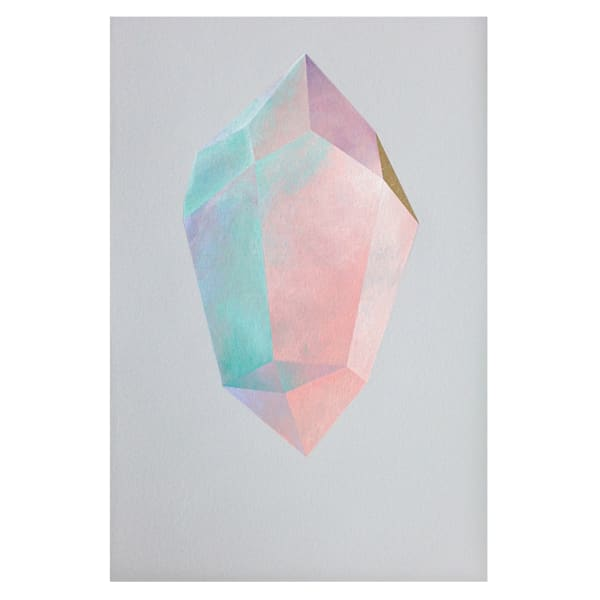 Pink Ice Crystal