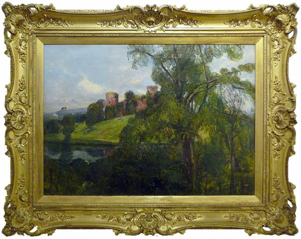 0041 - Landscape with castles