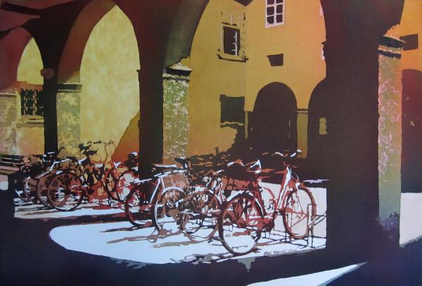 Nine Bicycles