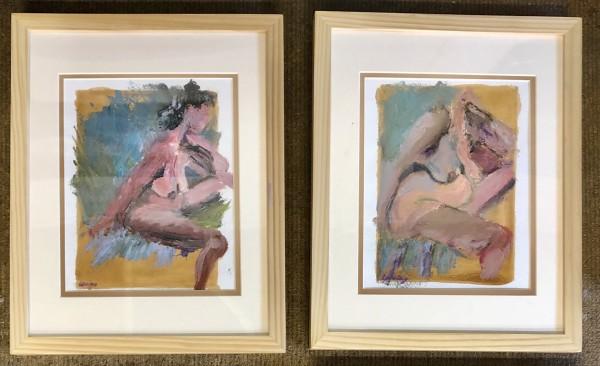 Nudes 1&2 (pair)