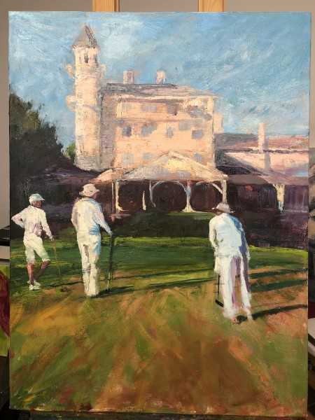 Croquet At The Club II
