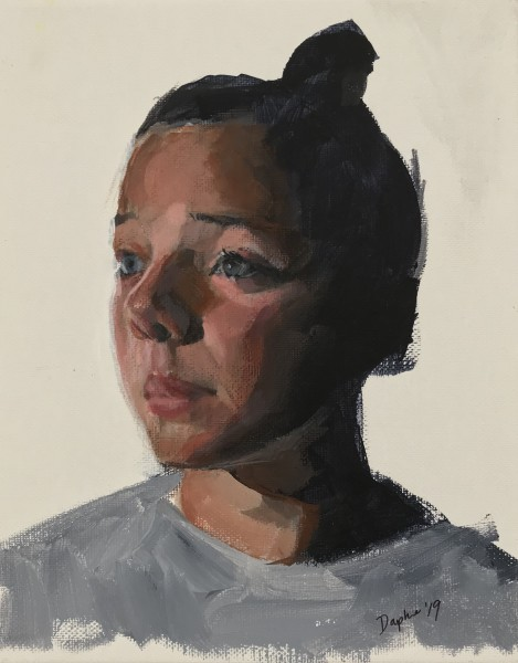 Untitled -Demo Portrait Painting