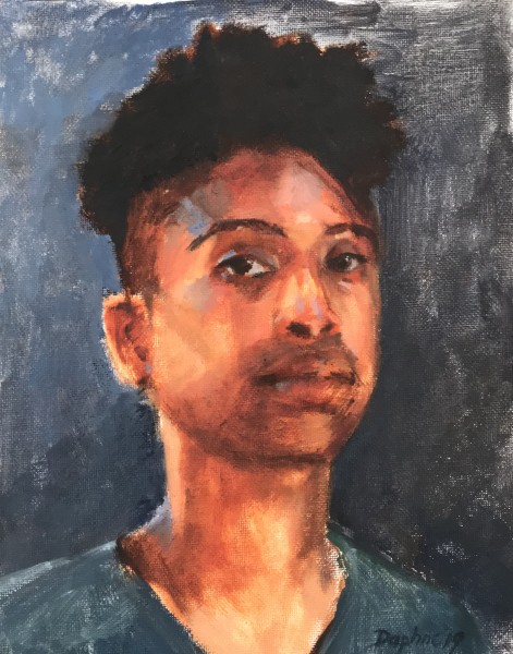 Untitled -Portrait Painting Demo February 9, 2019