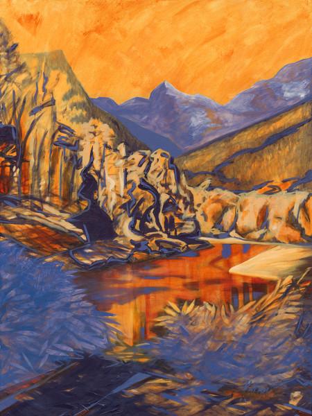 a) Gold Creek, Maple Ridge, BC