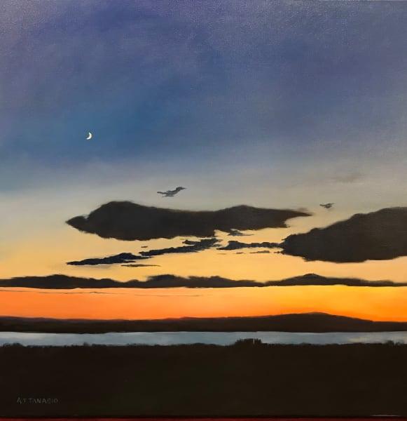 Sunset on Dyer Bay