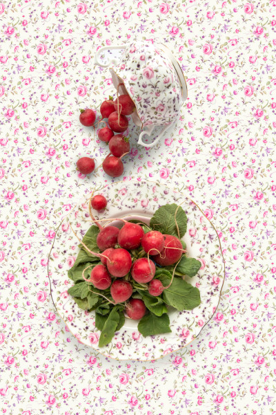 Royal Albert Rose Confetti with Radish
