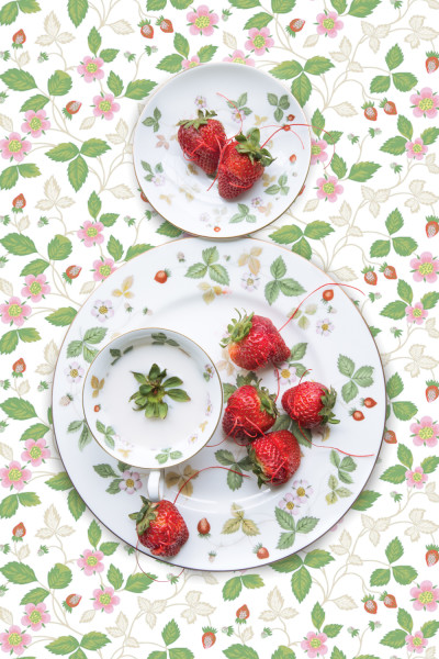 Wedgwood Wild Strawberry with Strawberry