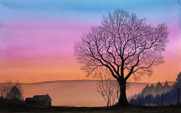 WINTER TREE III