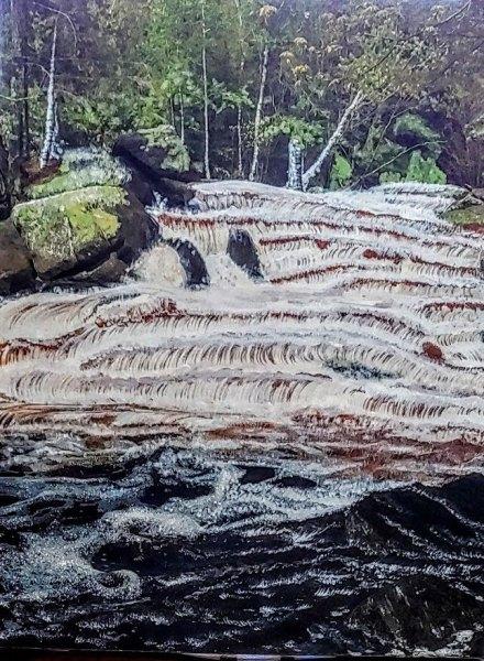 Waterfalls of Goodmann Park