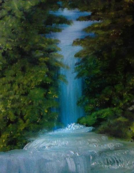 Graceful Waterfall SM