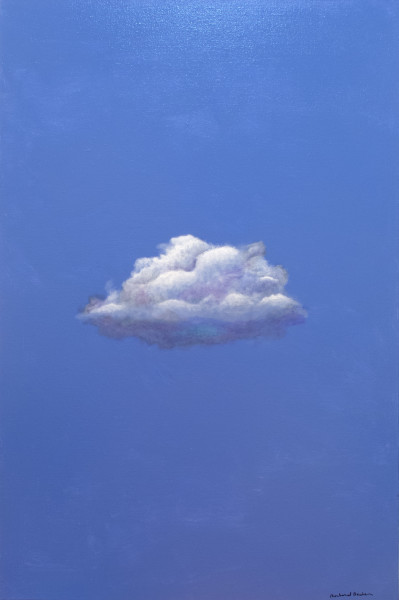Cloud on Blue