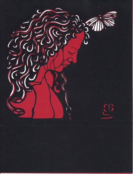 Self-portrait, head