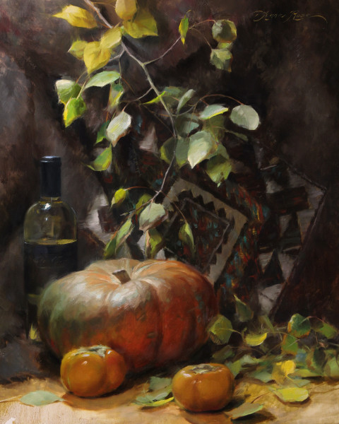 Pumpkin and Persimmons