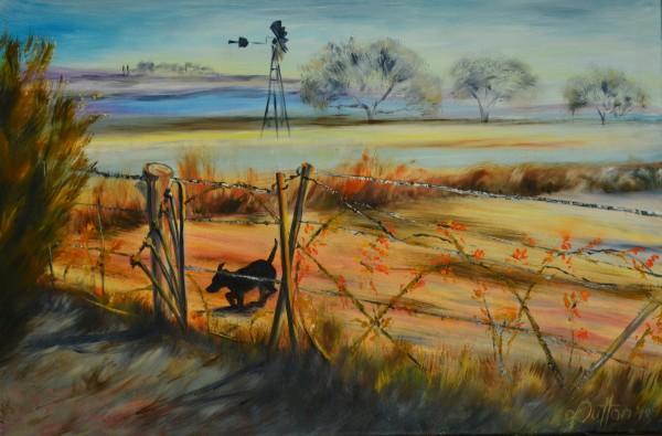 Wakkerstroom Winters Morning by Karien Dutton