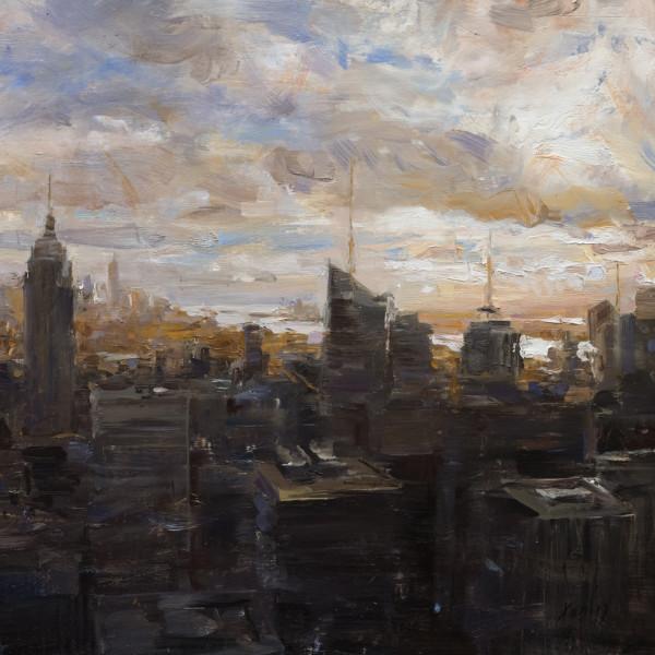 Backlit Manhattan