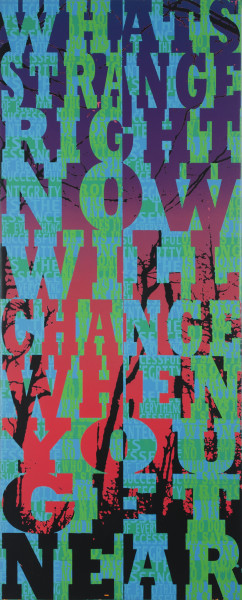 What's Strange Right Now Will Change When You Get Near