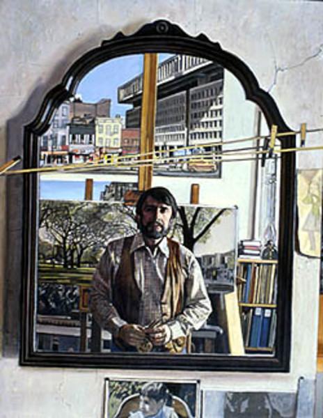 Mirror Image: Self Portrait