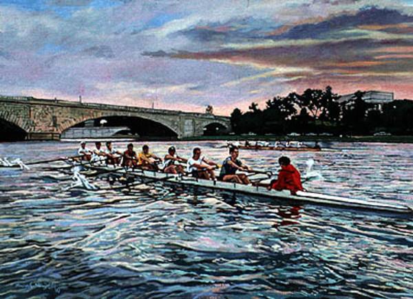 Sunrise on the Potomac