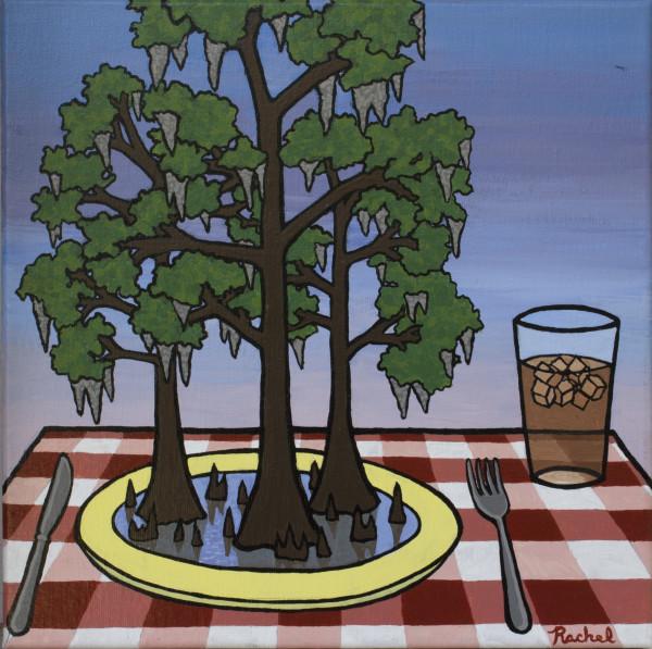 Cypress Platter