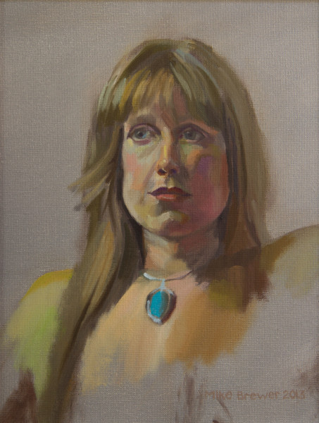 Alla Prima Portrait of Meredith