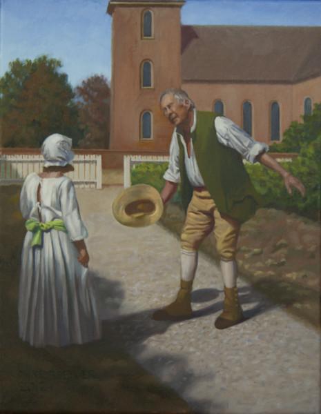 Teaching Good Manners (Williamsburg 6)