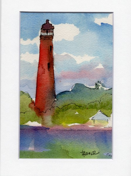 Ponces Inlet Light house